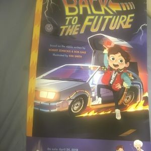 Back to the Future comicon 2018 poster